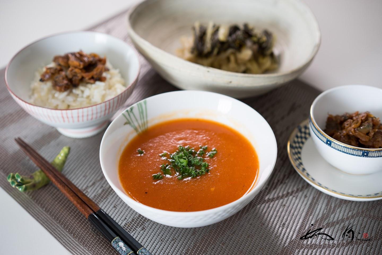 赤ピーマンスープ