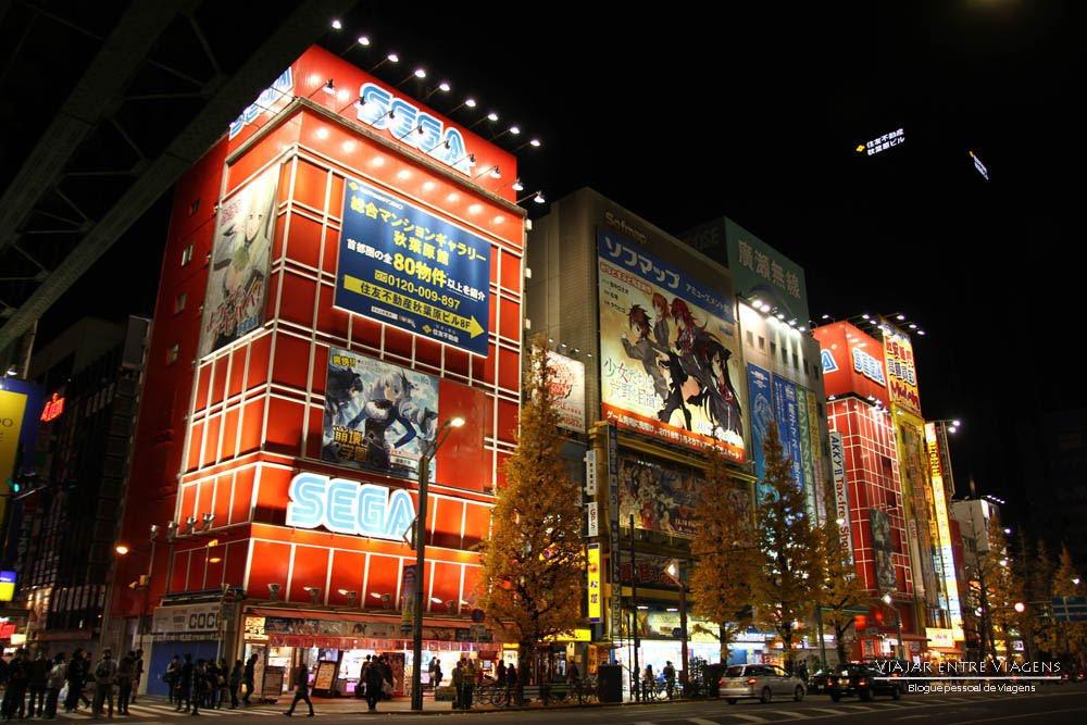 Visitar AKIHABARA, o bairro hi-teck de Tóquio | Japão
