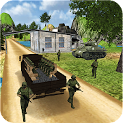 Extreme Army Cargo Driver: Troops Truck Transport