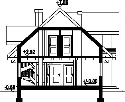 Milicz dw14 - Przekrój