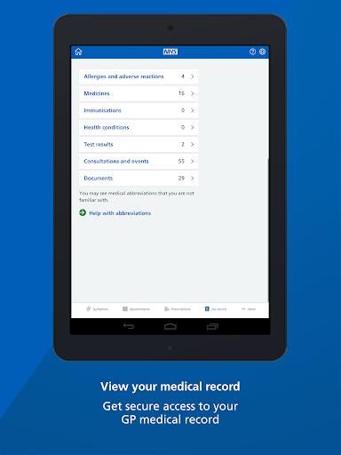 NHS App screenshot 11