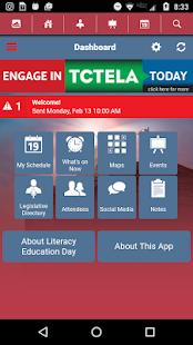 TCTELA Events - náhled