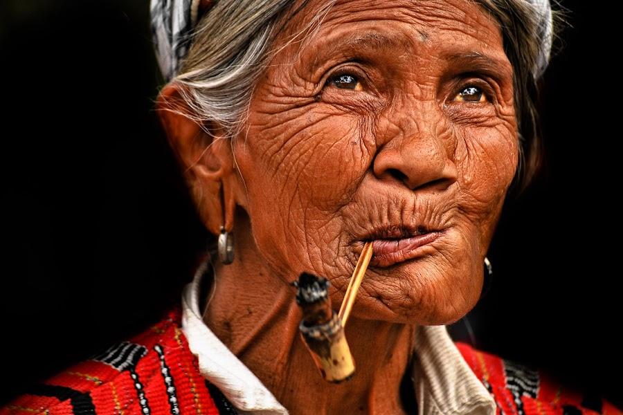 IGOROT WOMAN by Jaime Singlador - People Portraits of Women ( senior citizen )