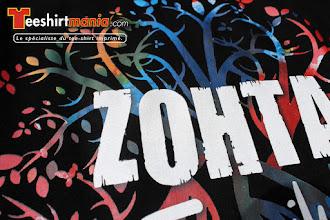 Photo: Tee shirt personnalisés en transfert sérigraphique quadri : ZOHTA FAMILY