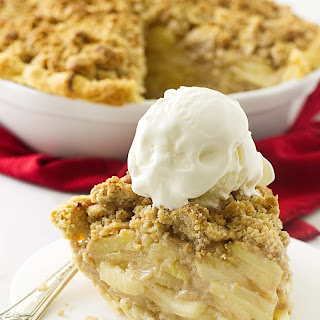 Dutch Apple Pie with Oatmeal Streusel Recipe