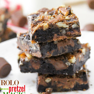Rolo Pretzel Magic Bars