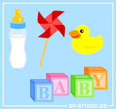 Photo: This update is dedicated to my sister-in-law – and to everybody else with small children. Four new baby items were added to www.SP-Studio.de : a baby bottle, a wind wheel toy, a rubber duck annd baby blocks. #baby #SP -Studio
