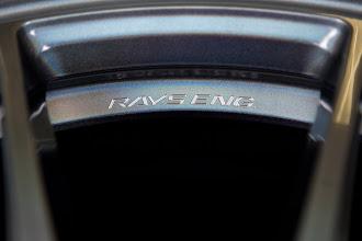 Photo: [RAYS VOLK RACING G25] RAYS ENGの文字を、今までのロゴ表現とは一線を画すマシニングで丁寧に彫刻し表現 http://www.ac.auone-net.jp/~ever_g/tire/index.html