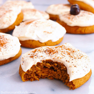 Melt-In-Your-Mouth Pumpkin Cookies.