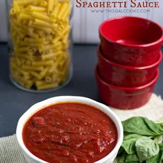 Crockpot Spaghetti Sauce.