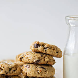 Coconut Oil Oatmeal Raisin Cookies.