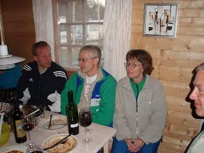 Photo: Påskeløb Overnatning i hytte på campingplads