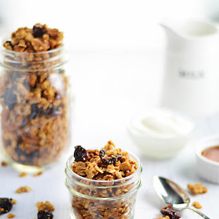 Canadian Whisky Brown Butter Granola