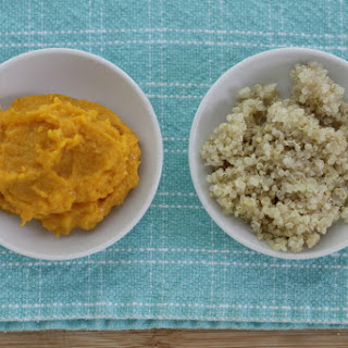 Mashed Butternut Squash with Quinoa Recipe