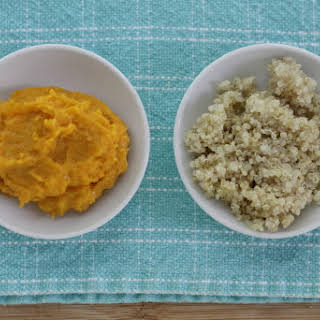 Mashed Butternut Squash with Quinoa.