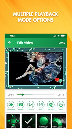 Music Video Editor - Free Photo + Movie Maker App screenshot 1