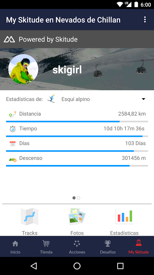 Nevados de Chillán- screenshot