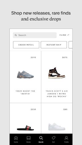 GOAT - Sneakers & Designer Fashion screenshots 1