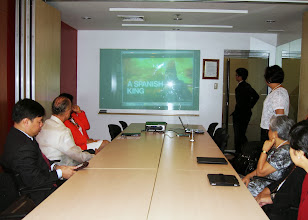 Photo: 22 August 2013 - Visit to the FINEX Office in Makati - Presentation for the 44th IAFEI World Congress in Manila.