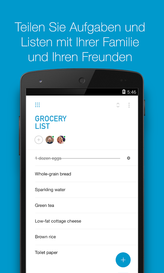 Any Do To Do Liste Amp Kalender Android Apps Auf Google Play
