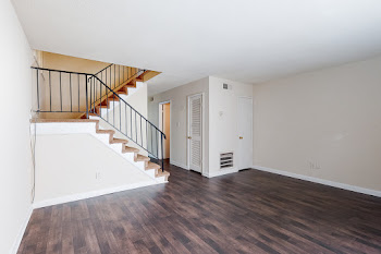 Go to Two Bed, 1.5 Bath Townhome Floorplan page.