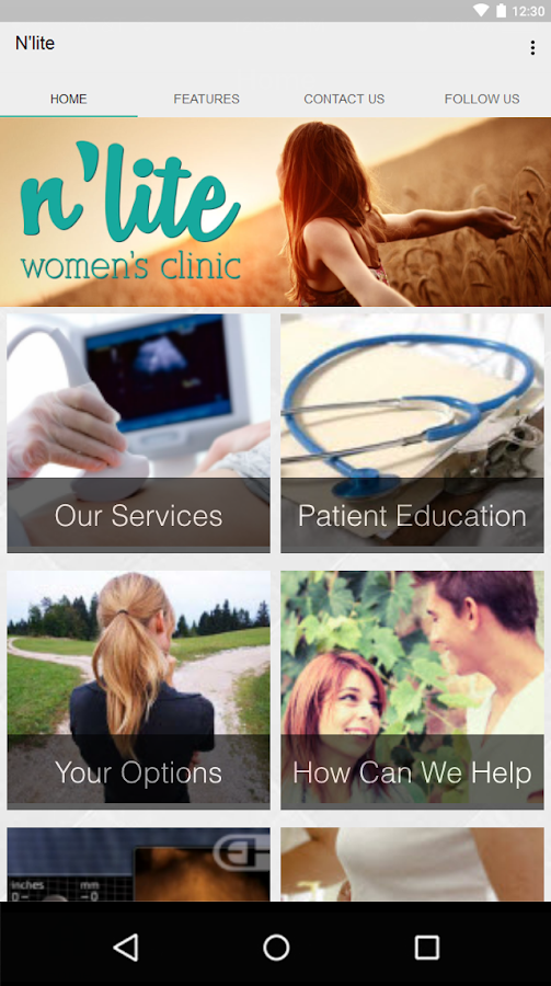 N'lite Women's Clinic- screenshot