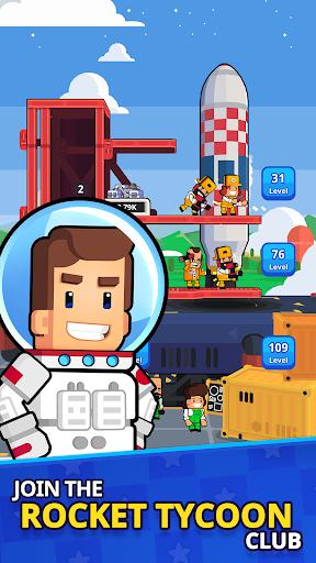Rocket Star - Idle Space Factory Tycoon Games 1.22.1 APK MOD screenshots 1