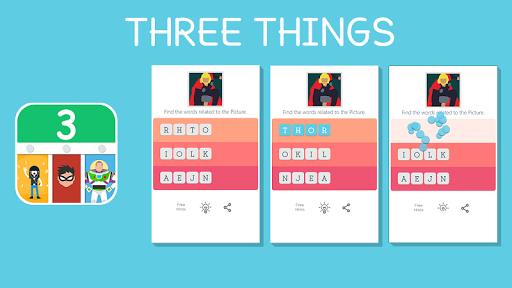 玩免費益智APP|下載Three Words! app不用錢|硬是要APP