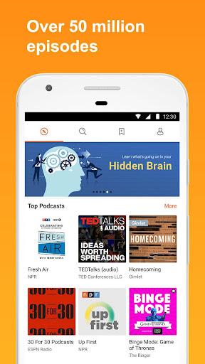 CastBox: Free Podcast Player, Radio & Audio Books screenshot 1