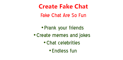 Fake Chat Conversation (No Ads) - Apps on Google Play