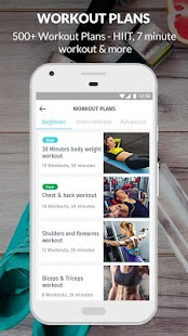 Lose Weight Fast: Healthy Diet & Workouts: MevoFit- screenshot thumbnail
