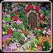 木製ガーデンゲートデザイン - Androidアプリ