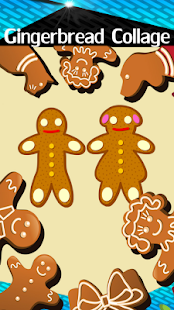 Gingerbread Collage - náhled