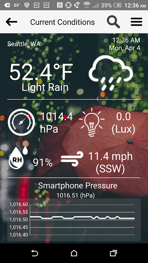 uWx-Weather- screenshot