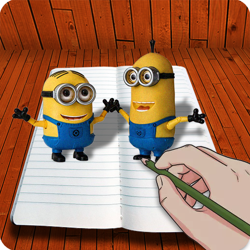 How To Draw 3D (3D Cartoon, 3D drawing) file APK Free for PC, smart TV Download