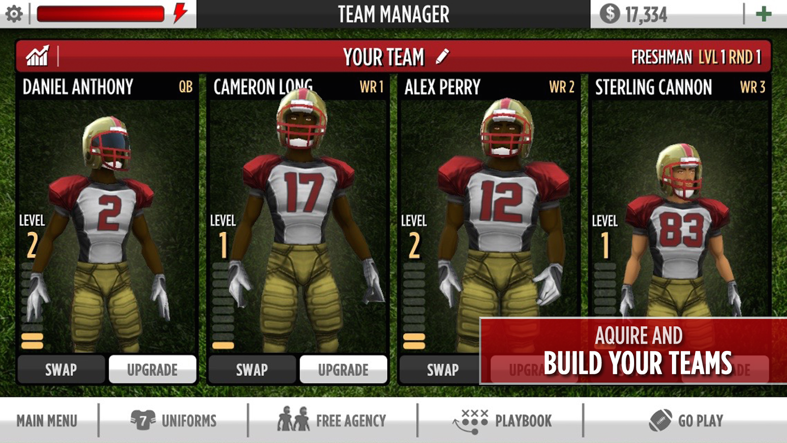 gametime football 2 android apps on google play