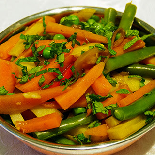 INDIAN STYLE BRAISED VEGETABLES