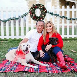Family and Fur Babies by Brittani Chin - People Family (  )
