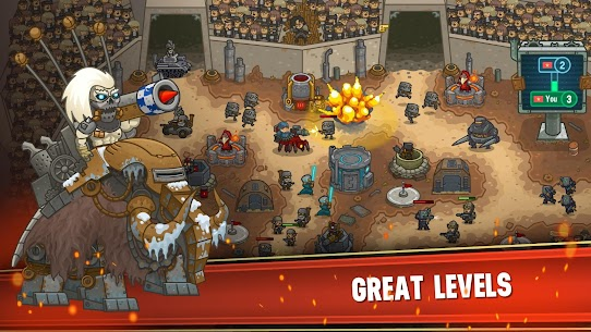 Steampunk Defense: Tower Defense Apk Download For Android and Iphone 3