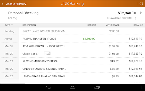 Jacksboro National Bank Mobile screenshot 11
