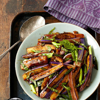 Hot and Sour Eggplant Stir-fry