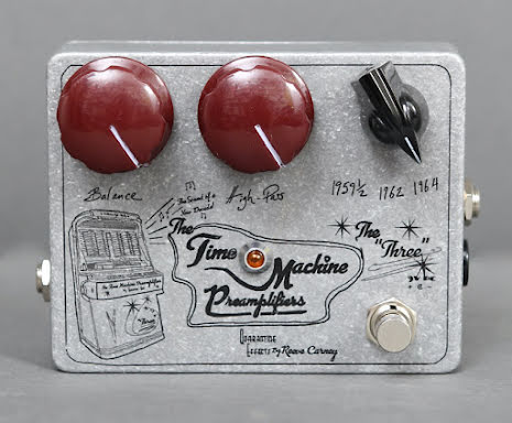 Quarantine Effects The Three Time Machine Preamplifier