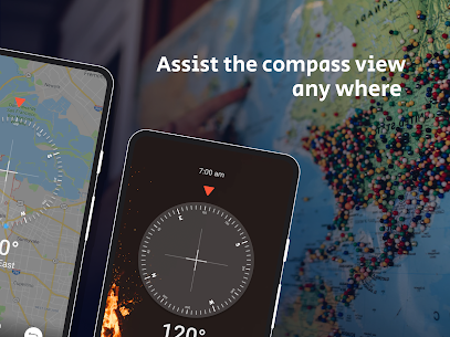 Smart Compass: GPS Coordinates – GPS Tracker Apk  Download For Android 1