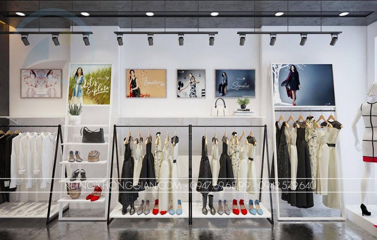 mẫu thiết kế shop thời trang giá rẻ số 1 - 6