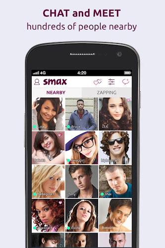 Smax Android App Screenshot