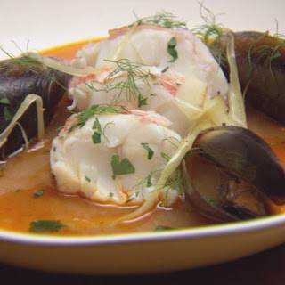 Lobster Medallions with Seafood Broth Recipe