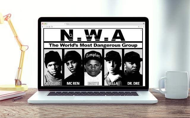 N.W.A. HD Wallpapers New Tab Theme