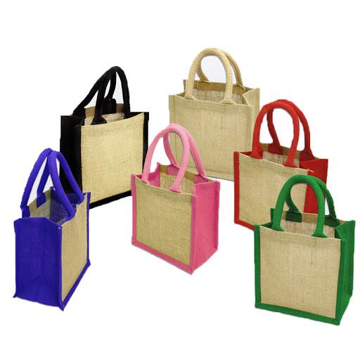 Custom Branded Jute Gift Bag