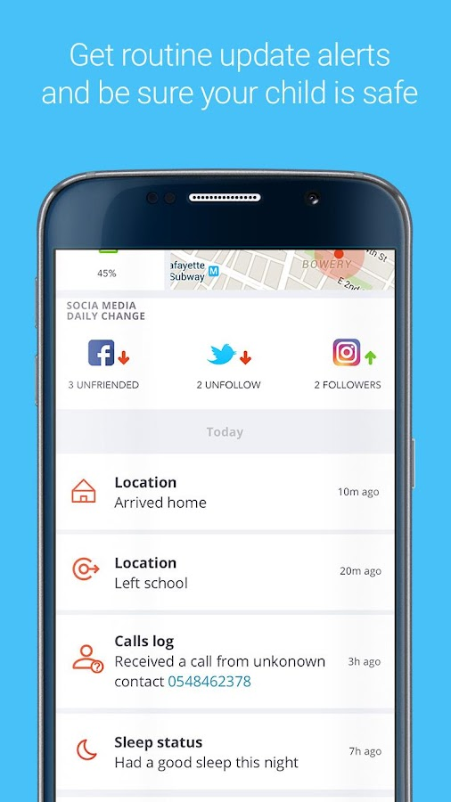Bosco Parent app - Family safety- screenshot