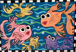 Photo: Five Fish 20 x 18